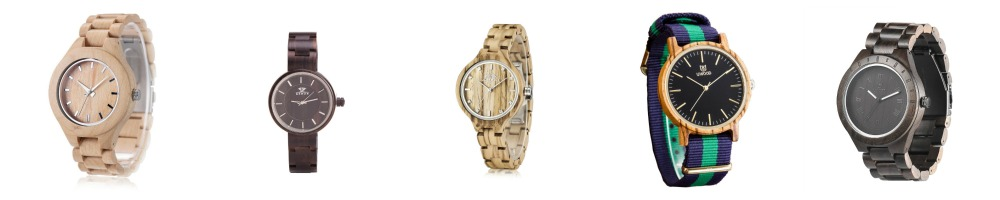 Wood Watches Under $35- Budget Fashion