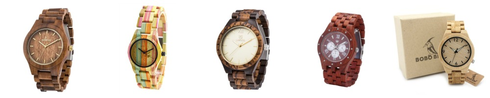 Wood Watches Under $35 - In All Tones!