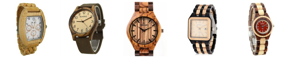 Wood Watches Under $35- Stylish Wooden watches