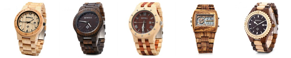 Wood Watches Under $35
