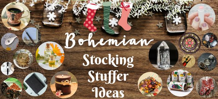 bohemian stocker stuffer ideas