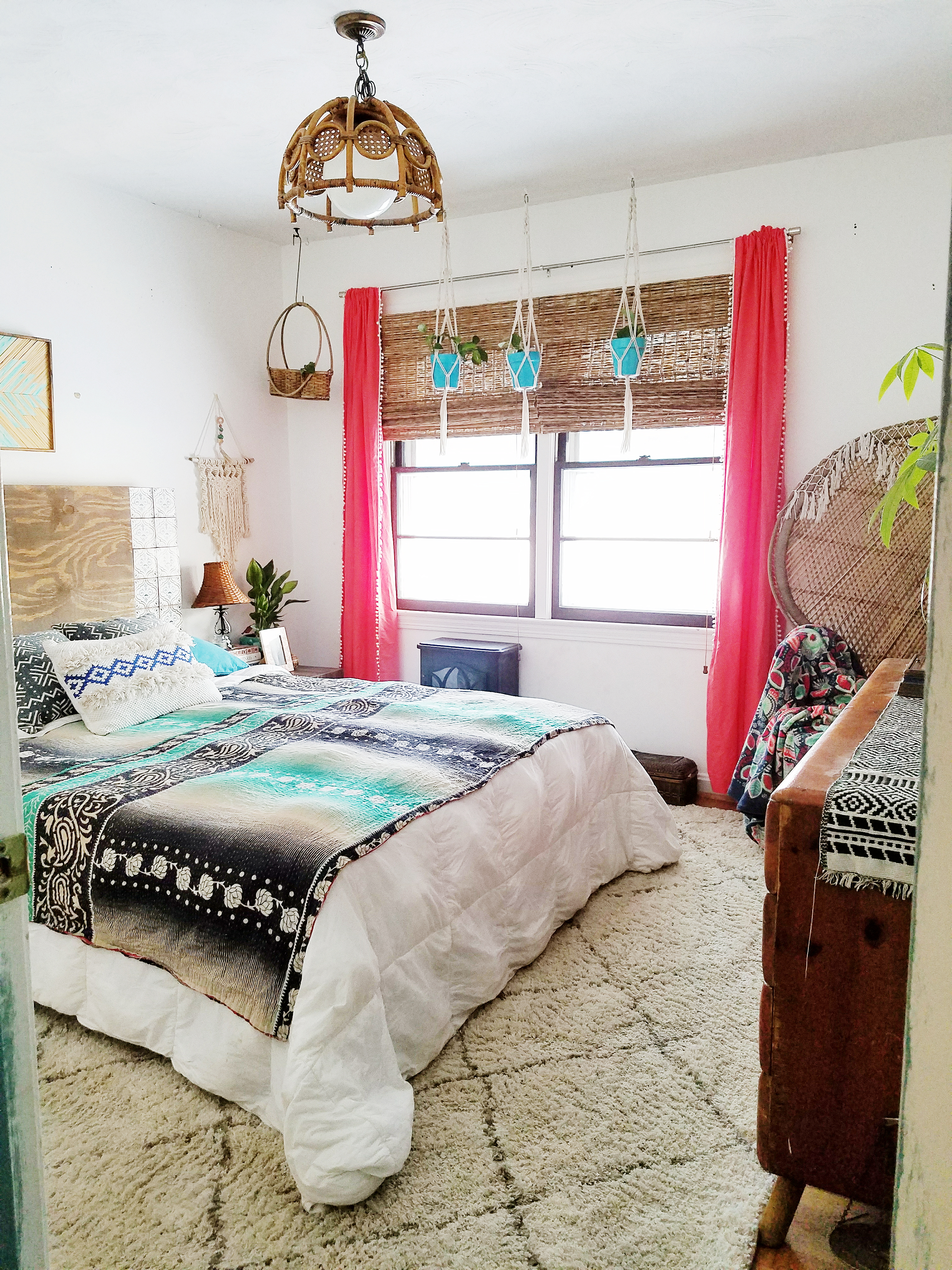 bohemian style bedroom a designer at home a designer s for creating 10899